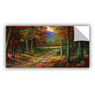 Brushtone Forgotten Road Removable Wall Decal