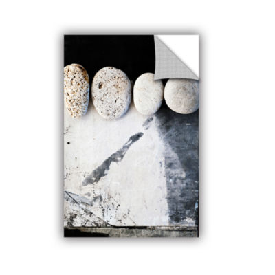 Brushtone Four Stones Removable Wall Decal