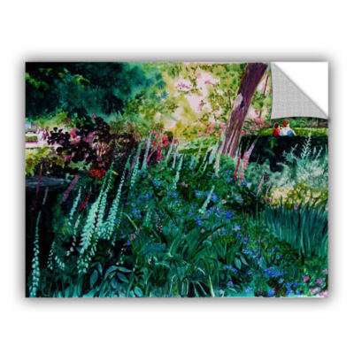 Brushtone Foxgloves At Mill Creek Removable Wall Decal
