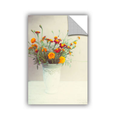Brushtone Flowers Classical Vase Removable Wall Decal