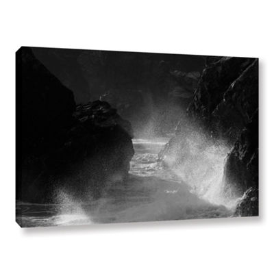 Brushtone Fragments 2 Gallery Wrapped Canvas WallArt