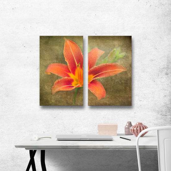 Brushtone Flowers In Focus 4 2-pc. Gallery WrappedCanvas Wall Art