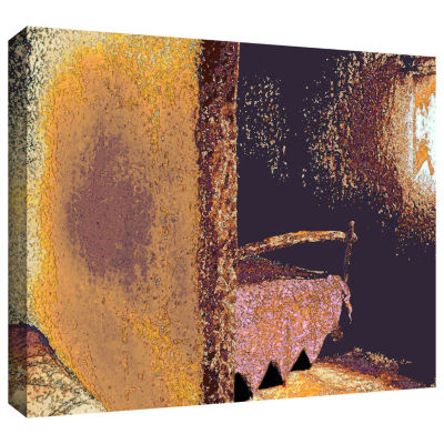 Brushtone Fred And Wilma's Bedroom Gallery WrappedCanvas Wall Art