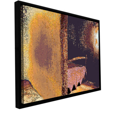 Brushtone Fred And Wilma's Bedroom Gallery WrappedFloater-Framed Canvas Wall Art