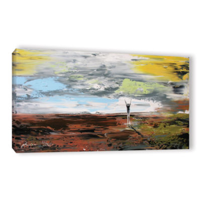 Brushtone Freedom Gallery Wrapped Canvas Wall Art