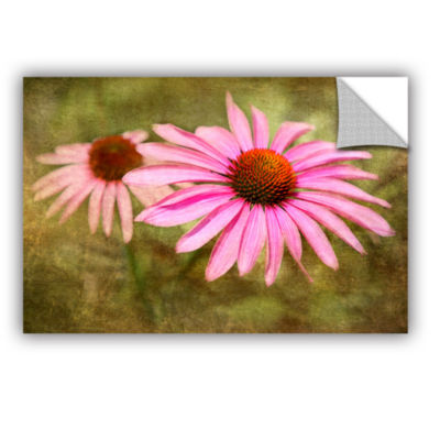 Brushtone Flowers In Focus 5 Removable Wall Decal