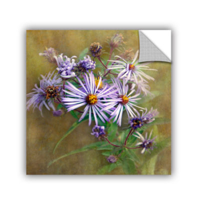 Brushtone Flowers In Focus 6 Removable Wall Decal