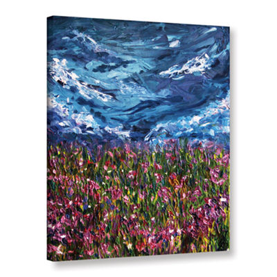 Brushtone Flowers Of The Field Gallery Wrapped Canvas Wall Art