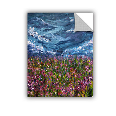 Brushtone Flowers Of The Field Removable Wall Decal