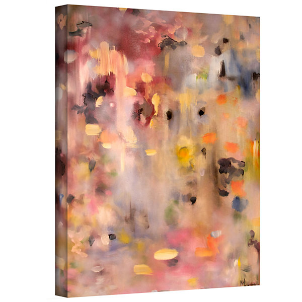 Brushtone Fluffs Of Wrath Gallery Wrapped Canvas Wall Art
