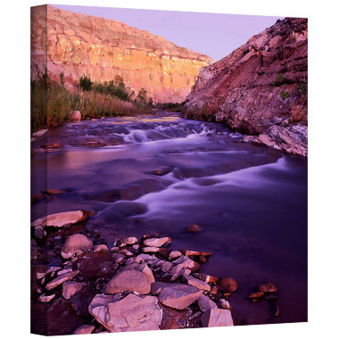 Brushtone Fremont River Dawn Gallery Wrapped Canvas Wall Art