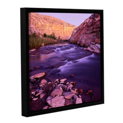 Brushtone Fremont River Dawn Gallery Wrapped Floater-Framed Canvas Wall Art