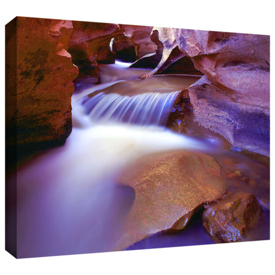Brushtone Fremont River Slot Gallery Wrapped Canvas Wall Art