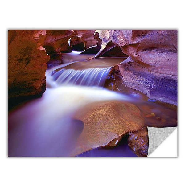 Brushtone Fremont River Slot Removable Wall Decal