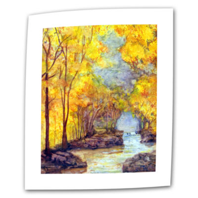 Brushtone French Creek Canvas Wall Art