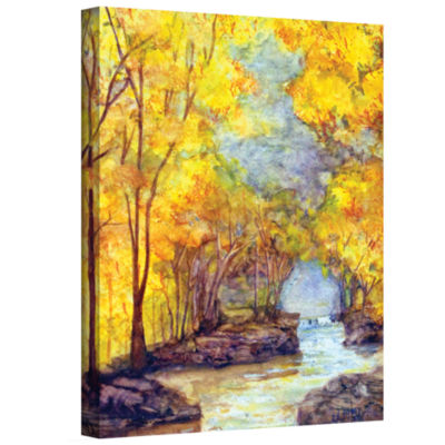Brushtone French Creek Gallery Wrapped Canvas WallArt