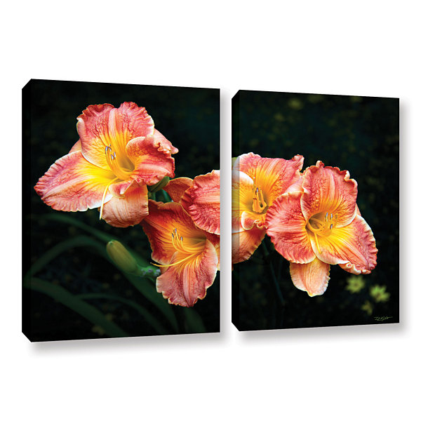 Brushtone Fresh Flowers 2-pc. Gallery Wrapped Canvas Wall Art