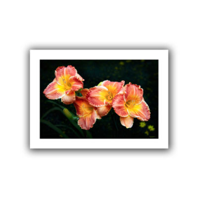 Brushtone Fresh Flowers Canvas Wall Art