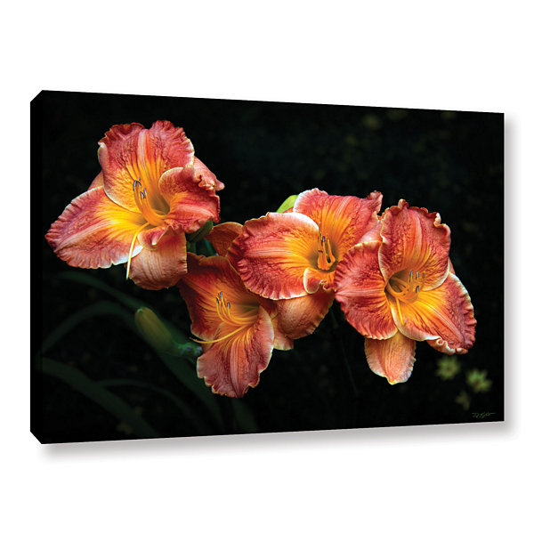 Brushtone Fresh Flowers Gallery Wrapped Canvas Wall Art