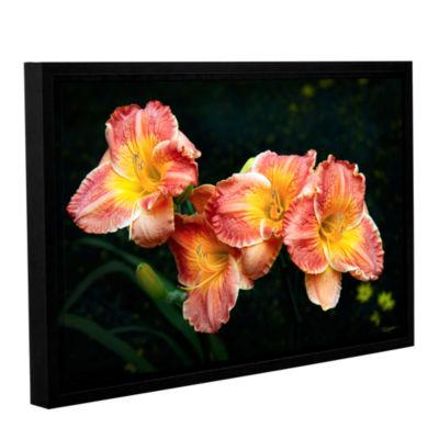 Brushtone Fresh Flowers Gallery Wrapped Floater-Framed Canvas Wall Art