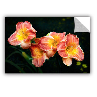 Brushtone Fresh Flowers Removable Wall Decal