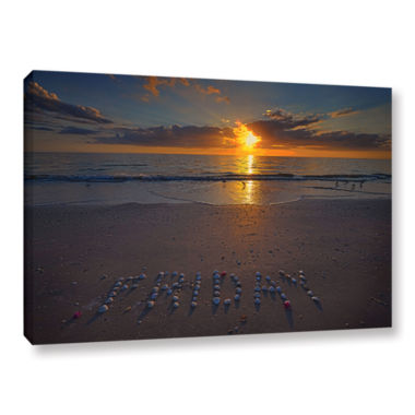Brushtone Friday Gallery Wrapped Canvas Wall Art