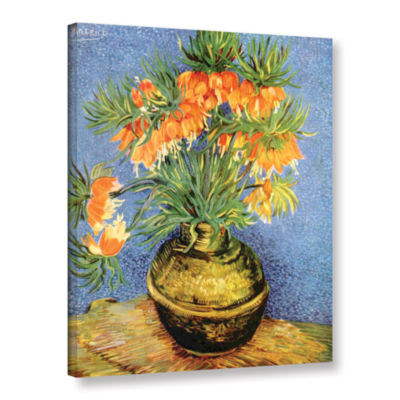 Brushtone Fritillaries Gallery Wrapped Canvas WallArt