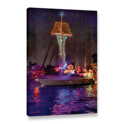 Brushtone Fragile Is Indescribably Beautiful Gallery Wrapped Canvas Wall Art