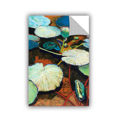 Brushtone Frogs Hideaway Removable Wall Decal
