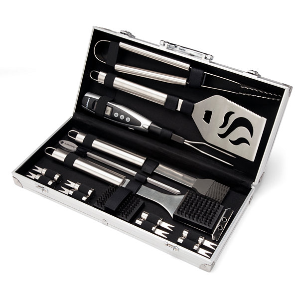 Cuisinart 20-pc. Deluxe Stainless Steel Grill Set