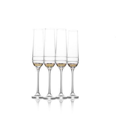 Mikasa Lux 4-pc. Champagne Flutes
