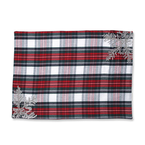 Pillow Perfect Stuart White Placemat (Set of 2)