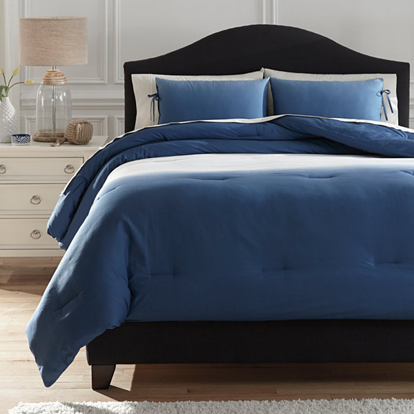 Signature Design by Ashley® Aracely Comforter Set in Blue