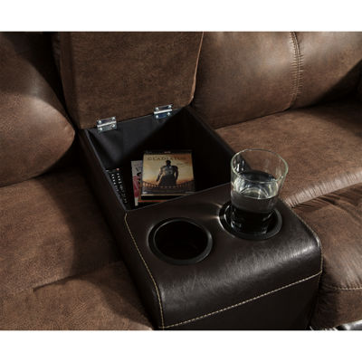 Signature Design by Ashley® Longview Pad-Arm Reclining Loveseat