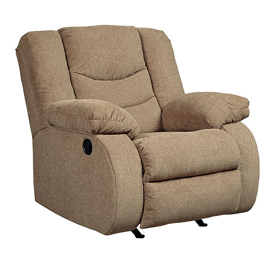 Signature Design by Ashley® Henderson Pad-Arm Rocker Recliner