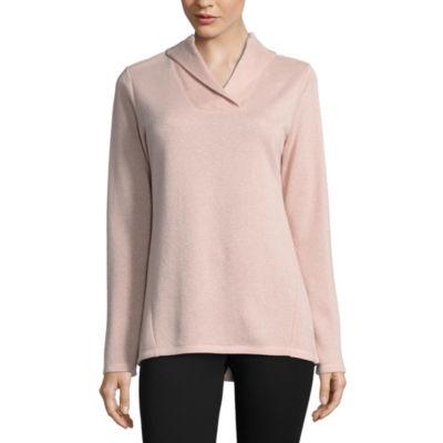 SJB Active Long Sleeve Shawl Collar Sweatshirt