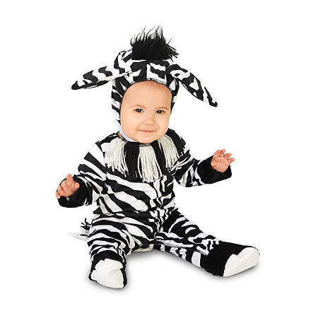 Zany Zebra Infant Costume Unisex Costume, 12-18 Months , Multiple Colors