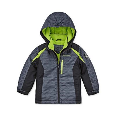 Weatherproof Boys Heavyweight Ski Jacket-Toddler