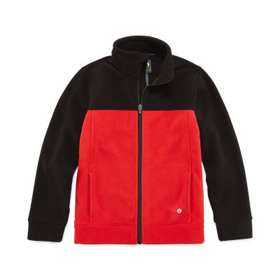 Xersion Fleece Midweight Jacket-Big Kid Boys Husky