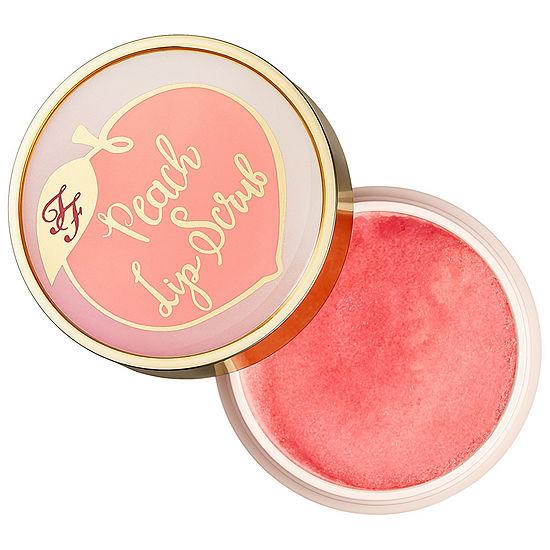 Too Faced Peach Lip Scrub - Peaches and Cream Collection
