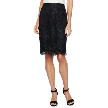 Chelsea Rose Lace Suit Skirt
