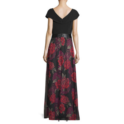 Scarlett Floral Tie Waist Dress - Tall