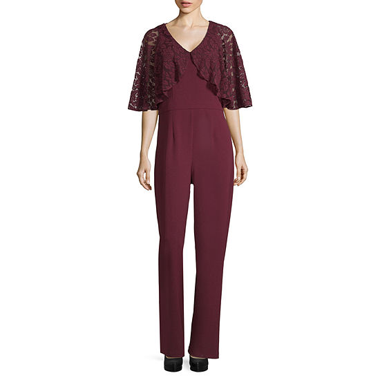 243109afd36 Scarlett Lace Shrug Jumpsuit - Tall - JCPenney