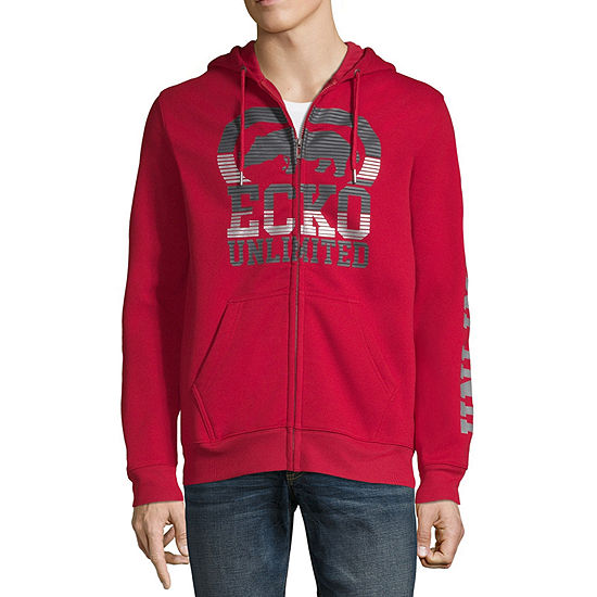 Ecko Unltd Hooded Midweight Fleece Jacket