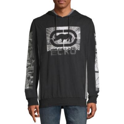 Ecko Unltd Long Sleeve Jersey Logo Hoodie