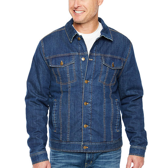 Big Mac Midweight Sherpa Lined Demin Shirt Jacket