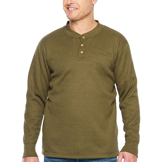 Smith Workwear Sherpa-Bonded Thermal Knit Henly Pullover