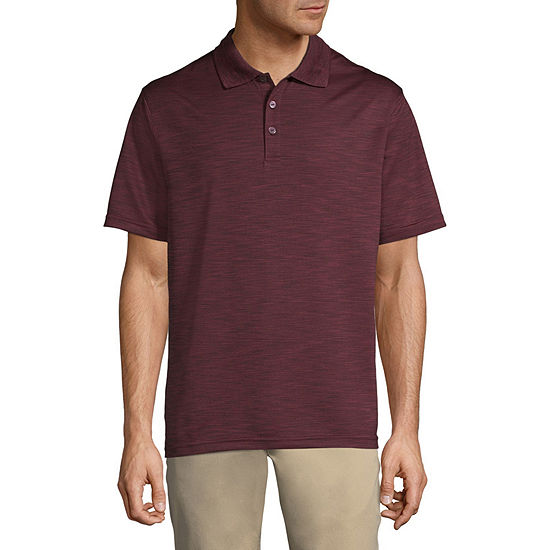 Haggar Mens Short Sleeve Polo Shirt