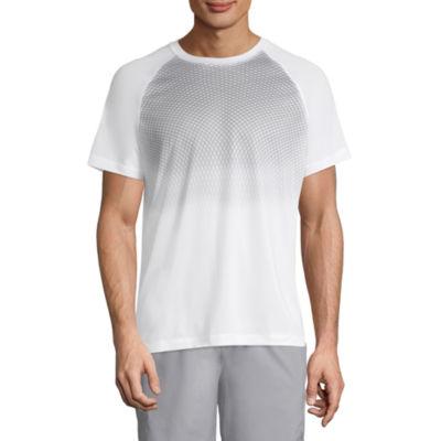 Xersion Mens Crew Neck Short Sleeve Moisture Wicking T-Shirt