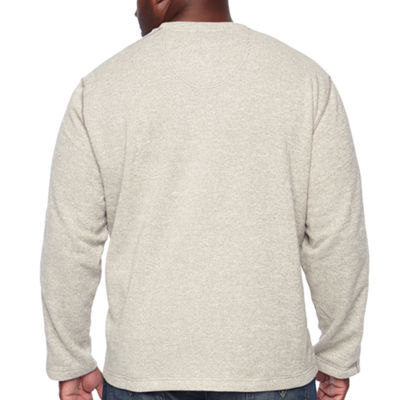 Van Heusen Crew Neck Long Sleeve Pullover Sweater - Big and Tall